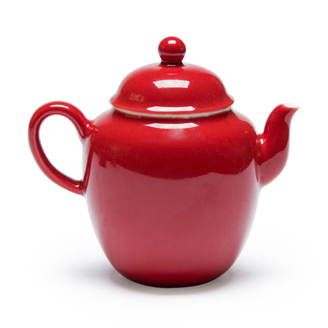 Ceramic Teapot Ji Hong Glaze With Filter Hole Bubble Teapot Small Single Pot Home Tea Maker