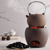 Charcoal stove tea maker alcohol stove Kung Fu tea stove boil teapot tea set