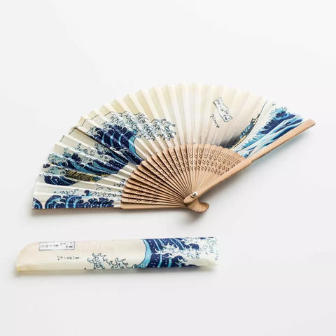 Chinese style Zen folding fan, portable mini fan, summer classical dance, ancient style, Japanese painting and calligraphy fan