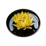 Chrysanthemum Handmade Ceramic Floral Tea Ceremony Decoration Handicrafts Tea Accessories