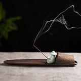 Creative ceramic incense stick holder line incense arrangement incense stick incense ceremony accessories sandalwood tray