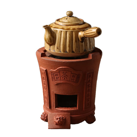 Electric And Charcoal Dual-purpose Tea Stove Charcoal Electric Heating Wire Stove Red Mud Cool Stove Carbon Stove Heating Stove Barbecue Stove