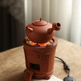 Electric and charcoal dual-purpose tea stove charcoal stove electric heating wire stove Chaozhou electric tea stove red mud cool stove carbon stove heating stove barbecue stove