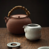 Fair cup ice crack hand grab gong cup ceramic points tea kung fu tea set