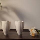 Handmade Lily Valley Flower Cup Tea Cup Kungfu Cup Props