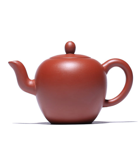 Handmade Mud Painted Ore Purple Sand Dahongpao Beauty Shoulder Teapot