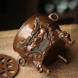 Handmade Pure Copper Charcoal Stove Small Tea Furnace Copper Furnace Tea Ceremony
