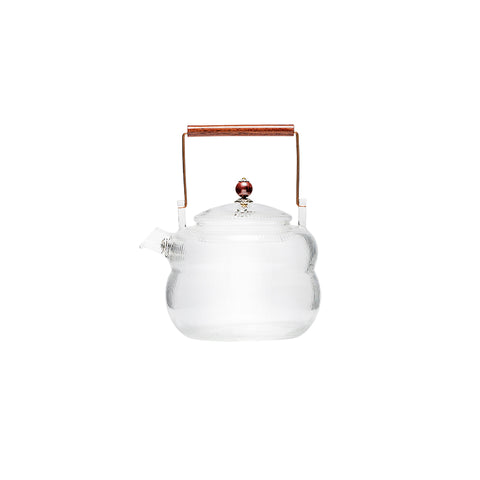 Resistant Explosion-proof Glass Girders Pot Kettle Electric Ceramic Stove Boiling Teapot Gao Peng Silicon Heat-resistant Foam Teapot