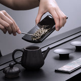Intelligent Electronic Tea Scoop Tea Lacquer Ware Cha Ze Tea Spoon Tea Weigh