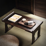 Burn Paulownia Tea Table Simple Home Small Coffee Table Mini Tatami Table Retro Low Table