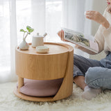 Japanese style simple window table solid wood coffee table small table creative folding table tatami low table balcony multifunctional table