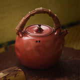 Jingdezhen Pottery Kettle Rattan Vine Beam Pot Old Rock Mud Kettle Charcoal Stove Teapot