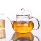 KAMJOVE Glass Teapot Heat Resistant Teapots 700ml
