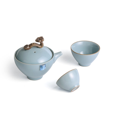Kung Fu tea set home simple tea maker