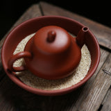 Handmade  Loofah teapot  Pad Tea Ceremony Accessories