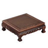 Mahogany furniture, chicken wing wood, Chinese square table, small tea table, bay window tables