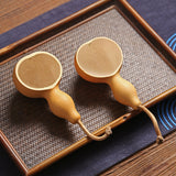 Natural gourd water spoon scoop tea spoon tea shovel Kung Fu tea set spare parts