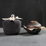 Portable Easy Ceramic Quick Cup Mini Kung Fu Travel Tea Set