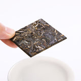 Mengku Ancient Tree Raw Tea Small Square Bricks Biscuit Tea 2018 Spring Tea