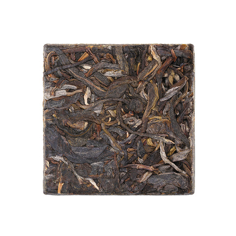 2018 Yunnan Mengku Ancient Tree Pure Spring Tea Bulk Raw Pu'er Tea Raw Tea Small Square Bricks