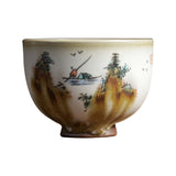 Pure hand-painted Jingdezhen ceramics Ming cup Ru kiln tea bowl