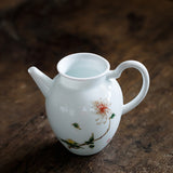 Qingbai Porcelain Fair Cup Tea Sea Ceramic Cup Household Tea Leak Cup Kungfu Tea Accessories