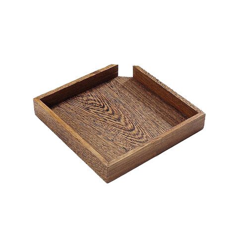 Rosewood solid wood Pu'er tea box tea tray review tea tray single layer tea cake box storage tea box