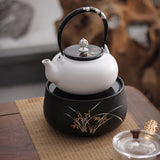 Intelligent household electric tea making facilities mute small mini desktop models orchid tea furnace ceramic heaters