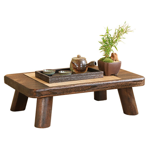Solid Wood Mini Tea Table Portable Table