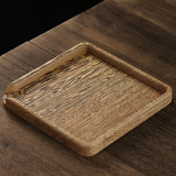 Solid Wood Bamboo Tea Pry Tea Tray Tea Opener Tea Cake Tray Tea Set Accessories Tea Points Tea Box