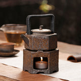 Stoneware Alcohol Lamp Tea Stove Warm Tea Pot