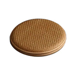 Tea Cake Storage Box Pu'er Tea Box Non-legacy Bamboo Box Dongyang Craft Boutique Gift Box