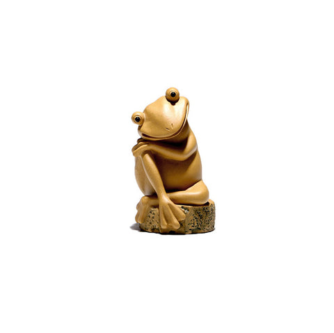 Small tea pets zizai frog