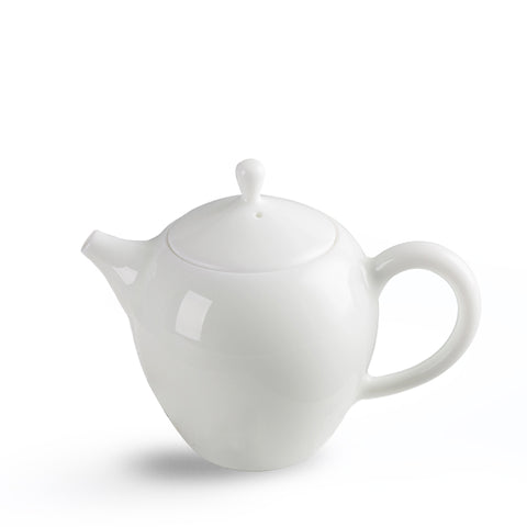 Jingdezhen Porcelain Mei Ren Jian (Beauty Shoulder) Teapot 180ml(Upgrade To Ball Hole)