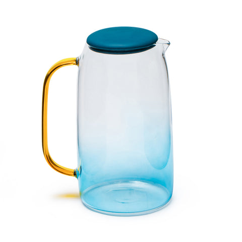 Kettle large capacity high temperature explosion-proof glass pot tea kettle creative cool white kettle cold water cup set
