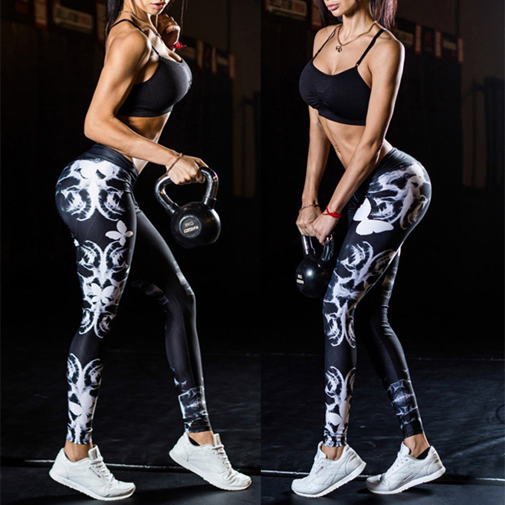NamasteWest | Butterfly Effect Leggings | Mid Waist | Expression