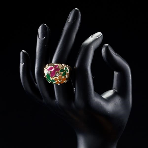 Intriguing Flower and Butterfly Ring