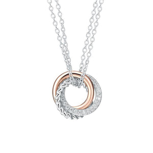 Luxurious rose gold necklaces pendants silver novelty luxurious rose gold necklaces pendants aloadofball Images