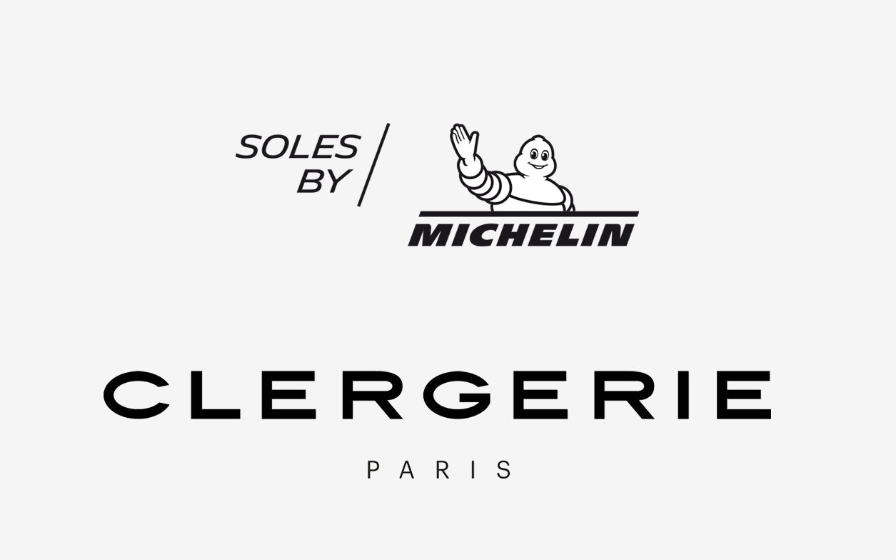 Clergerie X Michelin logos