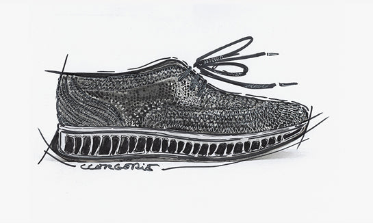 Clergerie X Michelin: sketch of the collaboration