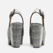 DYLAN WEDGE SANDALS, ANIMAL PRINT