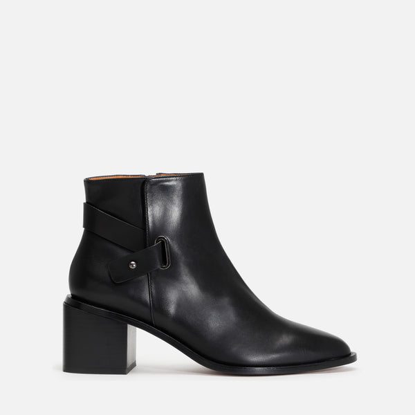 XINGAR ANKLE BOOTS, BLACK