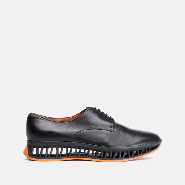 MAKA DERBIES, BLACK & ORANGE