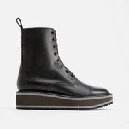 ANKLE BOOTS BRITISH, BLACK