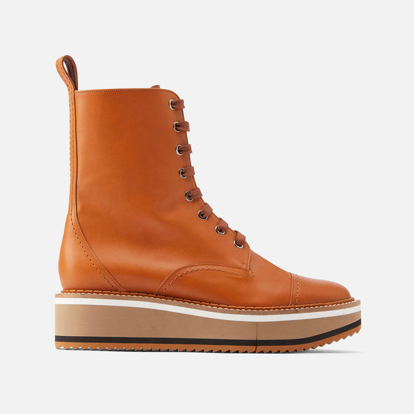 ANKLE BOOTS BRITISH, CAMEL