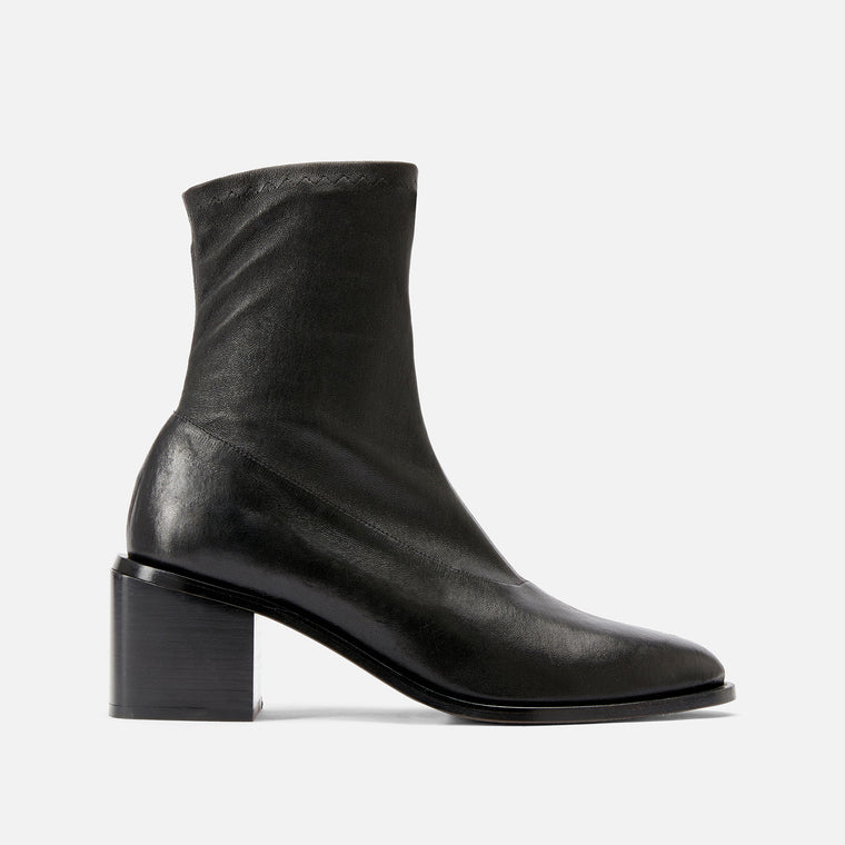 ANKLE BOOTS XIA, BLACK