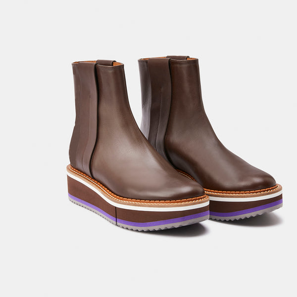 ANKLE BOOTS BOBBIE, BROWN
