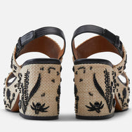 SANDALS CHIARA, BLACK