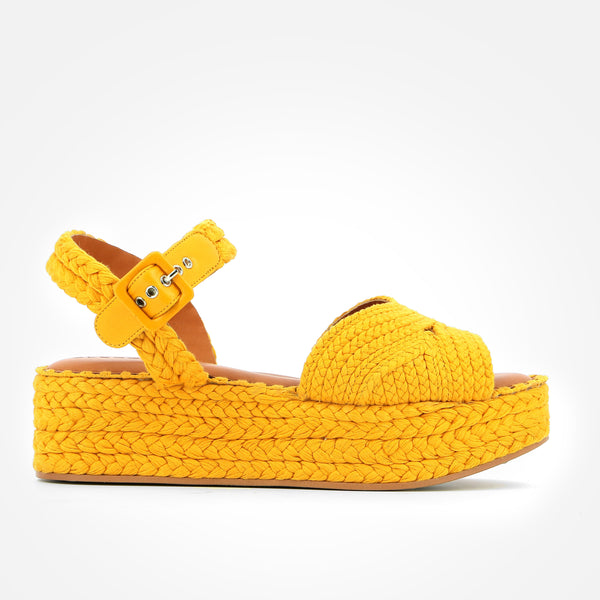ALDA SANDALS, YELLOW