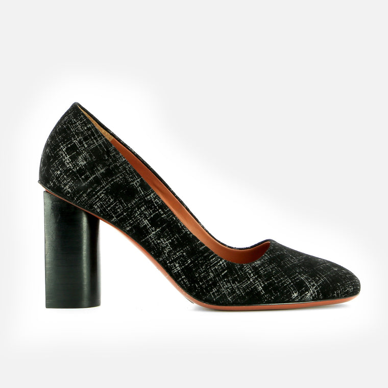 PUMPS JULINE, BLACK GRAPH